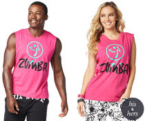 ★国内発送★ ズンバ Zumba Don't Stop Tank Berry