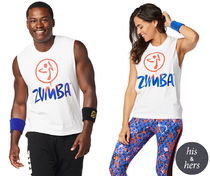 ★国内発送★ ズンバ Zumba Don't Stop Tank Wear It Out White