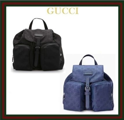 【GUCCI☆GG柄 ナイロン バックパック】510343