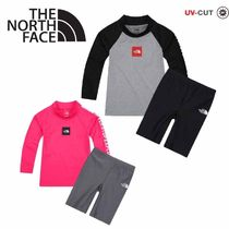 THE NORTH FACE〜K'S SQUARE キッズ用 ラッシュガードセット3色