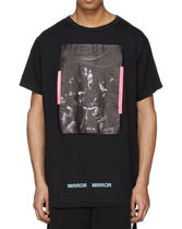 OFF-WHITE ◆ CARAVAGGIO TEE BLACK Tシャツ ブラック