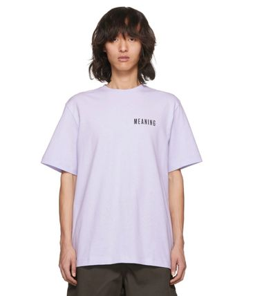 Acne Tシャツ・カットソー 【Justin Bieber愛用】Purple Jaceye 'Meaning' Print T-Shirt(2)