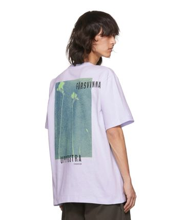 Acne Tシャツ・カットソー 【Justin Bieber愛用】Purple Jaceye 'Meaning' Print T-Shirt(4)
