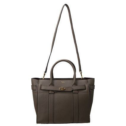 Mulberry トートバッグ 【関税負担】 MULBERRY SMALL ZIPPED  BAYSWATER BAG(6)