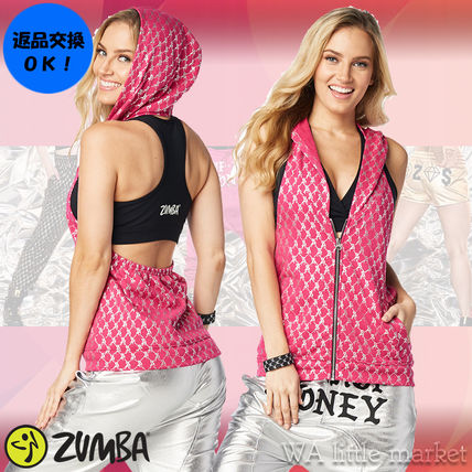 4月新作【送料無料】Zumba Hip Hop Honey Hoodie★Berry