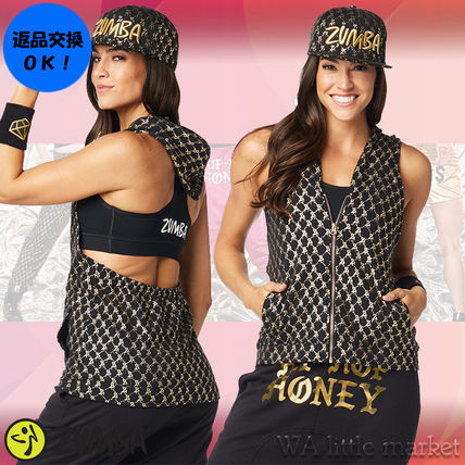 4月新作【送料無料】Zumba Hip Hop Honey Hoodie★Bold Black
