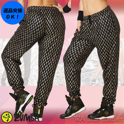 4月新作【送料無料】Zumba Hip Hop Honey Baggy Sweatpants