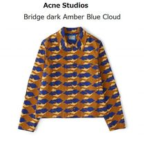 ACNE Bridge dark Amber Blue Cloud ダークアンバージャケット