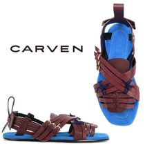 【18SS】大注目!!★CARVEN★strappy flat sandals