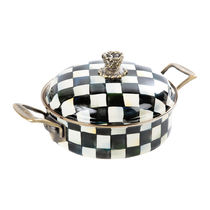 Courtly Check Enamel Casserole Dish - Small【送料・関税込】