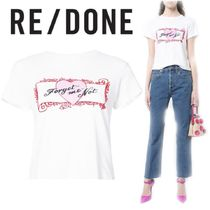 RE DONE(リダン) Tシャツ・カットソー 【18SS】大注目!!★RE/DONE★forget me not T-shirt