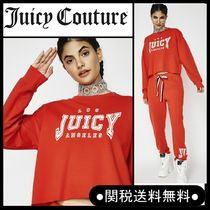 """【NEW】*Juicy Couture""""JUICY LA LOGO TERRY PULLOVERトップス"""