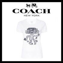 VIPSALE COACH X KEITH HARING EMBELLISHED T-SHIRT 30545OPI