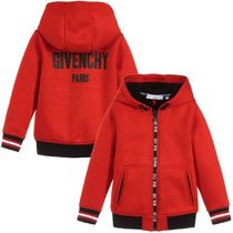 GIVENCHY★2018SS★ロゴ入ジップパーカー★赤★6~10Y