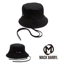 MACK BARRY(マクべーリ) ストローハット MACK BARRY★BTS着用★MCBRY STRAP BUCKET HAT