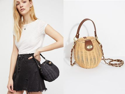 Free People かごバッグ Free People(フリーピープル)Le Sableかごバッグ