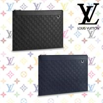 18SS☆新作☆《Louis Vuitton》ポシェット・アポロ クラッチ 2色