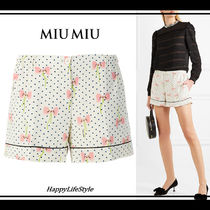 lovely♪◆DOTS AND BOW ショーツ◆MiuMiu