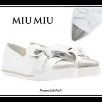 lovely♪◇Ribbon Detail スリッポン◇MiuMiu