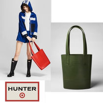 Hunter x Target  限定コラボ Rubber Sling Tote bag Olive