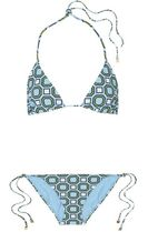 ★関税負担★TORY BURCH★GEO PRINTED TRIANGLE BIKINI