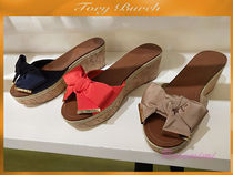 Tory Burch☆PENNY WEDGE SANDAL☆リボンウエッジが素敵★3色
