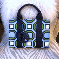 ★日本完売・在庫★TORY BURCH PRINTED MINI TORY TOTE 46427