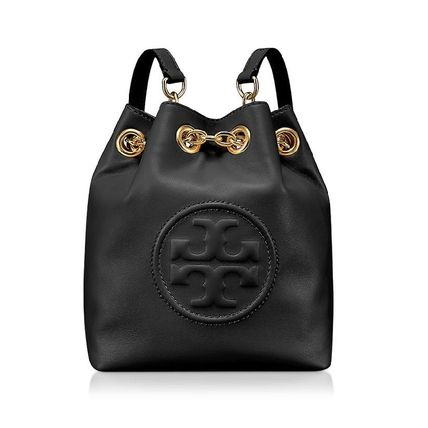 Tory Burch マザーズバッグ 送料・関税込み☆Tory Burch Mini Backpack ブラック(5)