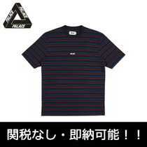 即納 国内発PalaceSkateboards BASICALLY A STRIPE T-SHIRT