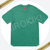 【18SS】Supreme Overdyed Pocket Tee ポケット Tシャツ Green