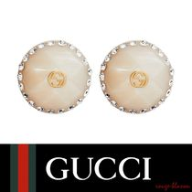 【国内発送】GUCCI ピアス Crystal-embellished earrings