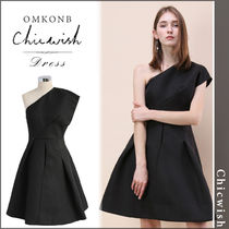 【国内発送・関税込】Chicwish★ Embossed Asymmetric Dress