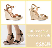 [セール]マイケルコース☆Jill Espadrille Wedge Sandals