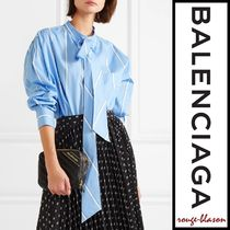 【国内発送】Balenciaga シャツ New Swing cotton-poplin shirt