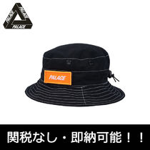 即納 国内発PalaceSkateboards ARK AIR BOONIE HAT BLACK パレス