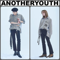 【ANOTHERYOUTH】正規品★Piping ブーツカットスキニー/追跡送料