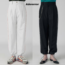 ★ADERerror★ Piping track trousers
