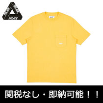 即納 国内発PalaceSkateboards SLUB POCKET T-SHIRT パレス