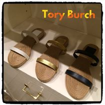 ★SALE★Tory Burch TWO BAND ESPADRILLE SLIDE サンダル