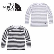 THE NORTH FACE〜CMX COTTON STRIPE デイリー長袖Tシャツ 3色