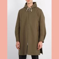 【数量限定】18SS ACNE STUDIOS Melt cotton-twill coat カーキ