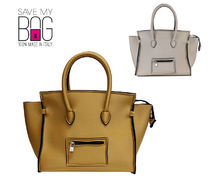 国内即発★SAVE MY BAG 2129N  PORTOFINO METALLICSハンドバッグ