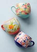 Anthropologie☆Painted Poppies マグカップ3個セット 国内発送