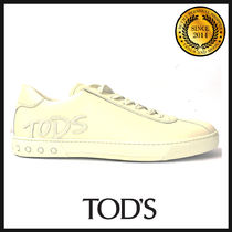 TOD'S(トッズ) スニーカー TOD'S トッズ ロゴパッチ レザースニーカー XXM0XY0Y170