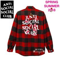 数量限定★希少 ANTI SOCIAL SOCIAL CLUB Kkoch Flannel シャツ
