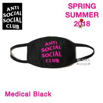 希少★国内即発 ANTI SOCIAL SOCIAL CLUB Medical Black マスク