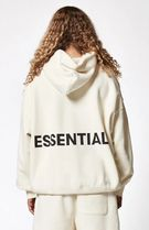SS18 FEAR OF GOD ESSENTIALS GRAPHIC PULLOVER HOODIE WHITE