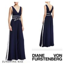 【DVF】Sleeveless Wide-Leg Jumpsuit☆ジャンプスーツ☆送料込