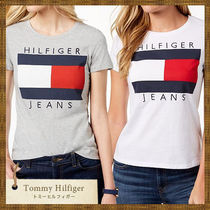 Tommy Hilfiger(トミーヒルフィガー) Tシャツ・カットソー SALE★ Tommy Hilfiger ビックロゴTシャツ ホワイト