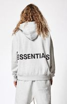 SS18 FEAR OF GOD ESSENTIALS GRAPHIC PULLOVER HOODIE GREY
